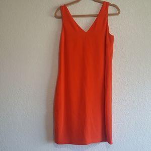 NWOT Lauren Ralph Lauren Orange Dress